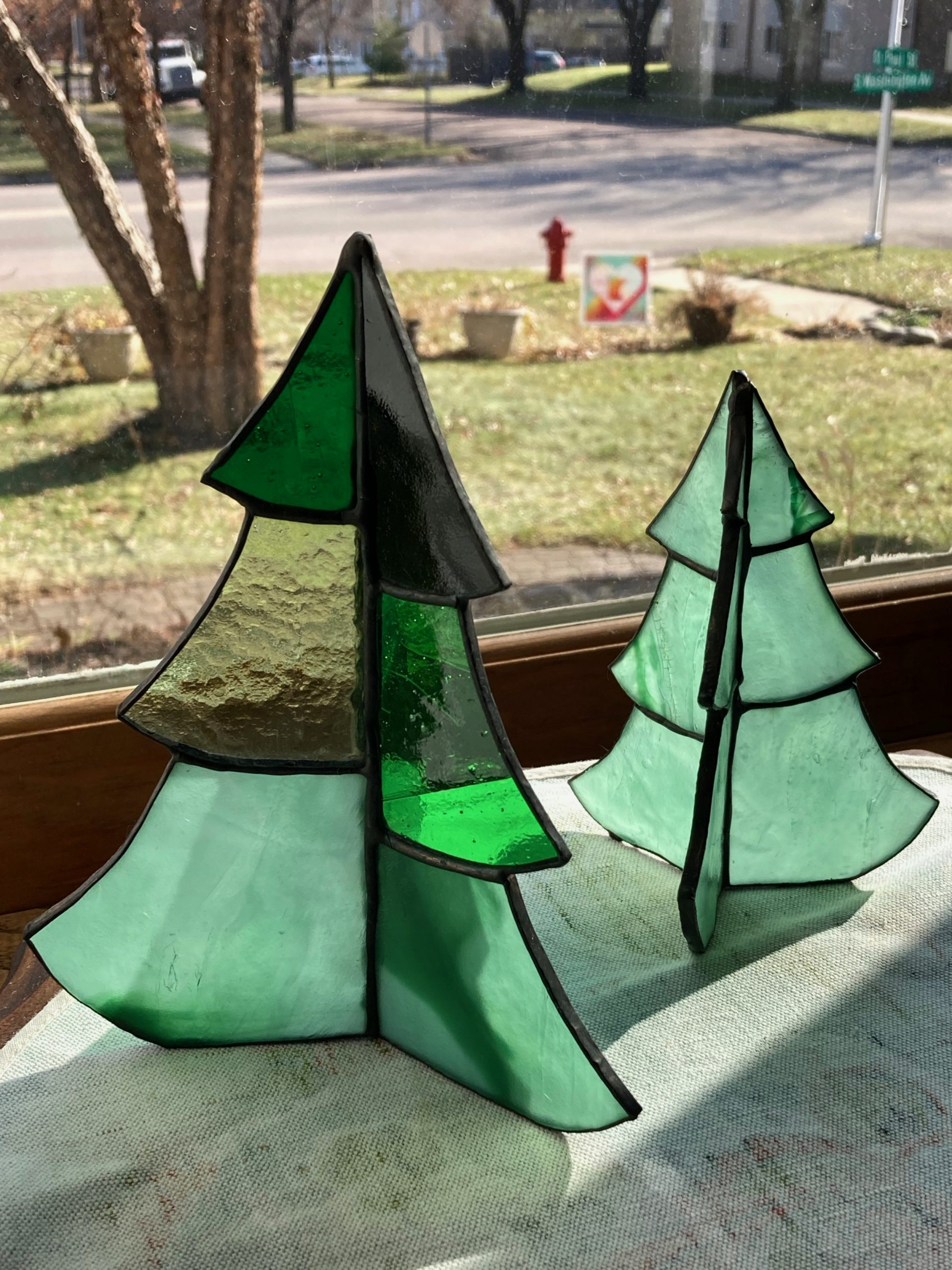 Green Glass Trees